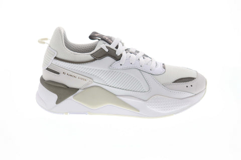 Puma RS-X Trophy 36945102 Mens White Mesh Casual Lifestyle Sneakers Shoes
