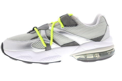 Puma Cell Venom Han Mens Gray Mesh Low Top Lace Up Sneakers Shoes