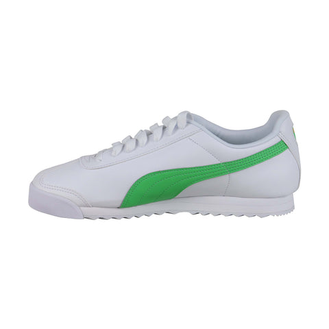 Puma Roma Basic + 36957102 Mens White Classic Low Top Lifestyle Sneakers Shoes