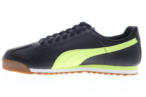 Puma Roma Basic + 36957119 Mens Black Synthetic Lifestyle Sneakers Shoes
