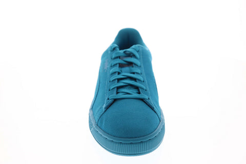 Puma Suede Classic Mono 36963401 Mens Blue Low Top Lifestyle Sneakers Shoes