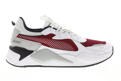 Puma RS-X Core 36966603 Mens White Mesh Lace Up Low Top Sneakers Shoes