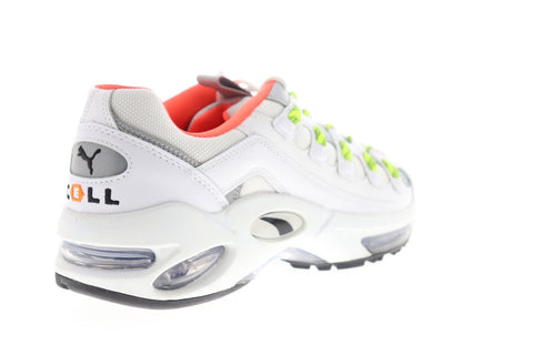 Puma Cell Endura Rebound 36980601 Mens White Canvas Lifestyle Sneakers Shoes