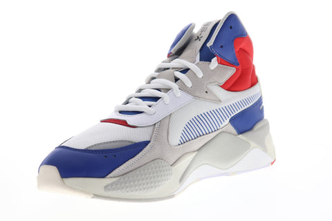 Puma RS-X Midtop Utility 36982102 Mens White Canvas High Top Sneakers Shoes