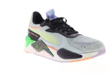 Puma RS-X FD 36983801 Mens Gray Black Suede Lace Up Low Top Sneakers Shoes