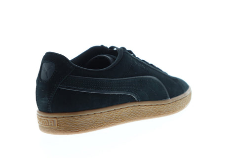 Puma Suede Classic Winter 36988501 Mens Black Lace Up Lifestyle Sneakers Shoes