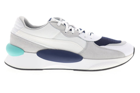 Puma RS 9.8 Cosmic 37036701 Mens White Mesh Canvas Low Top Sneakers Shoes