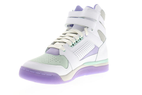 Puma Palace Guard Mid Easter 37059501 Mens White Athletic Basketball Shoes