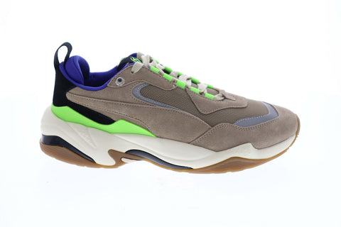 Puma Thunder Sankuanz 37082101 Mens Gray Mesh Casual Lifestyle Sneakers Shoes