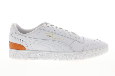 Puma Ralph Sampson LO 37084604 Mens White Leather Low Top Sneakers Shoes