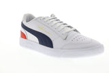 Puma Ralph Sampson LO 37084610 Mens White Leather Low Top Sneakers Shoes