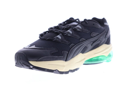Puma Cell Alien Rhude Mens Black Mesh & Leather Low Top Sneakers Shoes
