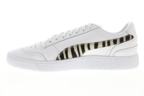 Puma Ralph Sampson LO Wild 37096501 Mens White Low Top Sneakers Shoes