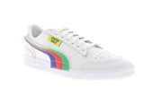 Puma Ralph Sampson LO Chinatown Market Mens White Low Top Sneakers Shoes