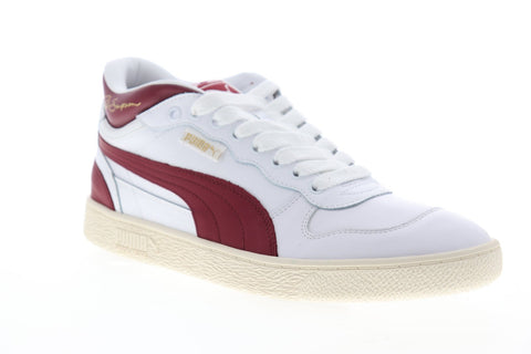 Puma Ralph Sampson Demi OG 37168301 Mens White Leather Low Top Sneakers Shoes