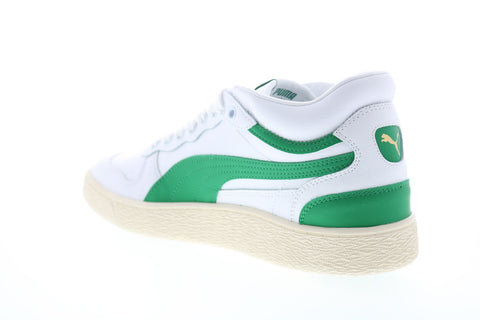 Puma Ralph Sampson Demi OG 37168304 Mens White Leather Low Top Sneakers Shoes