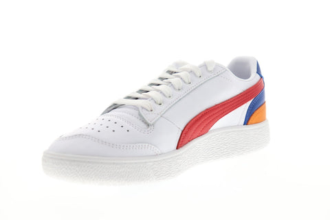 Puma Ralph Sampson LO Primary 37221001 Mens White Low Top Sneakers Shoes