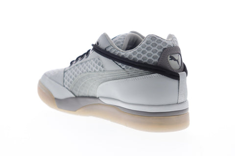 Puma Palace Guard N6Four 37243201 Mens Gray Mesh Lace Up Low Top Sneakers Shoes