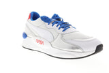 Puma Rs 9.8 Space Agency 37250901 Mens White Mesh Low Top Sneakers Shoes