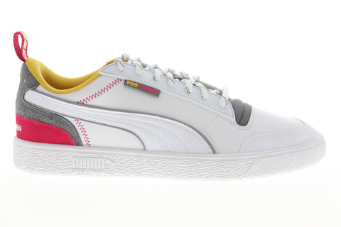 Puma Ralph Sampson Helly Hansen 37263101 Mens White Leather Sneakers Shoes