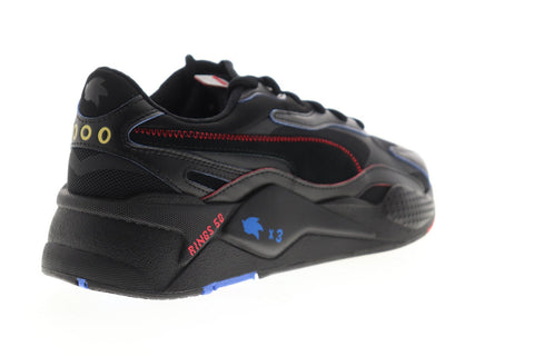 Puma RS-X3 Sonic 37342901 Mens Black Mesh Lace Up Low Top Sneakers Shoes