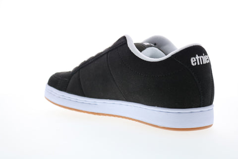 Etnies Kingpin Mens Black Suede Lace Up Skate Sneakers Shoes