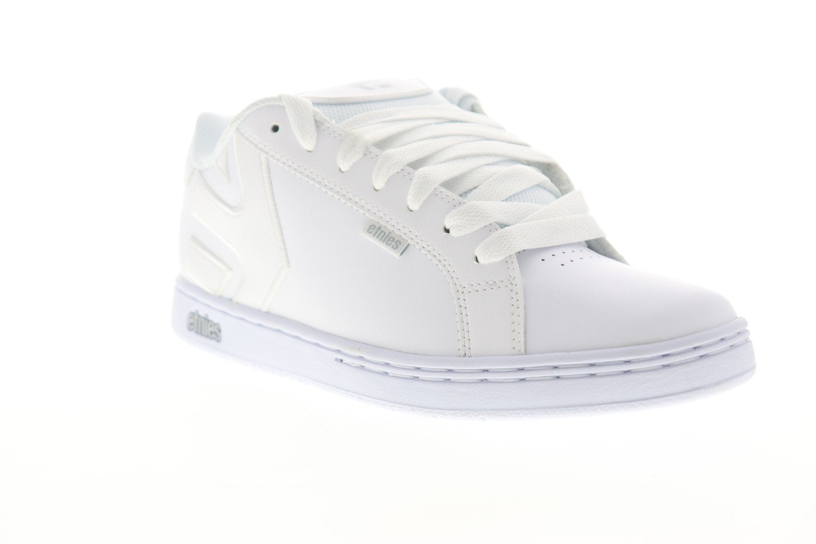 Etnies Fader 4101000203106 Mens White Leather Lace Up Athletic Skate S -  Ruze Shoes