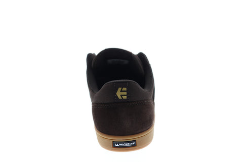 Etnies Marana Mens Brown Suede Athletic Lace Up Skate Shoes