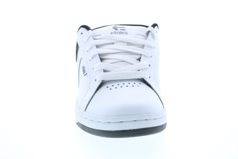 Etnies Fader 2 Mens White Leather Low Top Lace Up Skate Sneakers Shoes