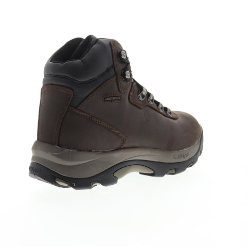 Hi-Tec Altitude IV Waterproof Mens Brown Wide Leather Hiking Boots Shoes