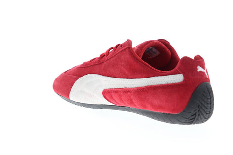 Puma Speed Cat 41730201 Mens Red Suede Lace Up Low Top ...