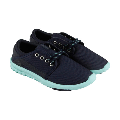 Etnies Scout 4201000297 Womens Blue Textile Casual Lace Up Sneakers Shoes