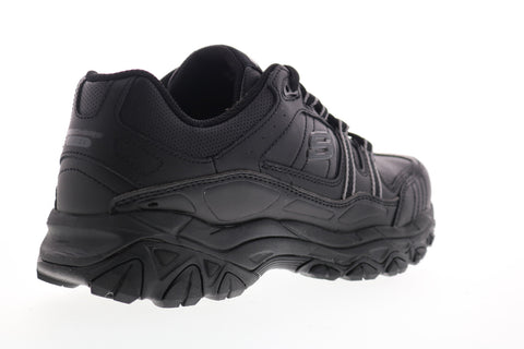 Skechers After Burn Memory Fit Strike On 50122 Mens Black Cross Training Shoes