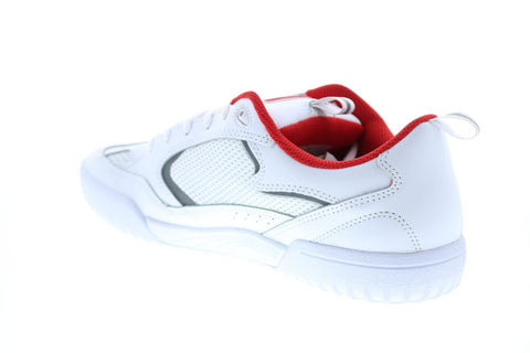 ES Quattro 5101000174100 Mens White Leather Skate Inspired Sneakers Shoes