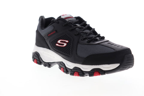 Skechers Terrabite Belmill 51846 Mens Black Mesh Athletic Walking Shoes