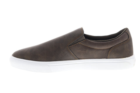 Levis Jeffrey 501 Slip On WX 519220-01B Mens Brown Lifestyle Sneakers Shoes