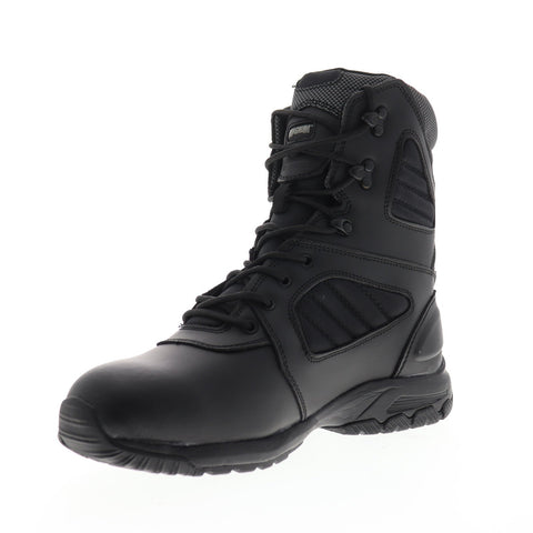 Magnum Response III 8.0 5211 Mens Black Leather Tatical Lace Up Boots Shoes