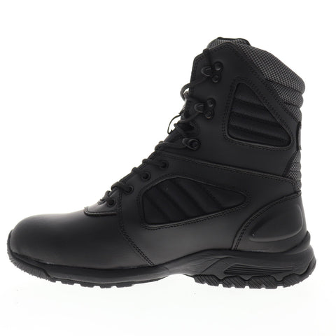 Magnum Response III 8.0 5211 Mens Black Leather Tactical Lace Up Boots Shoes