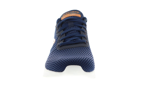 Skechers Air Ultra Flex 52551 Mens Blue Mesh Athletic Lace Up Walking Shoes
