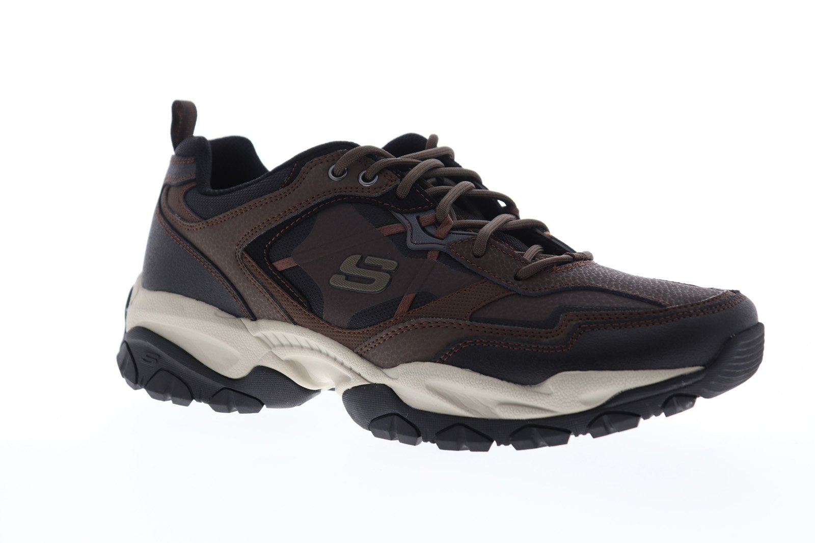 Skechers Sparta 2.0 Tr 52700 Mens Brown Leather Casual Low Top Sneakers Shoes