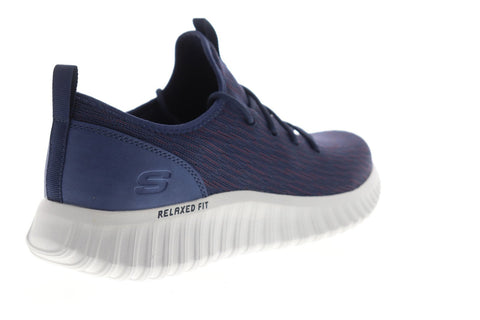 Skechers Depth Charge 2.0 Garnado 52776 Mens Blue Mesh Low Top Sneakers Shoes