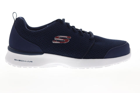 Skechers Air Dynamight Vendez 52787 Mens Blue Wide 2E Low Top Sneakers Shoes