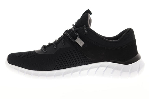 Skechers Overhaul Ryniss 52815 Mens Black Canvas Athletic Cross Training Shoes