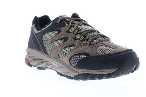 Hi-Tec Wild Fire Low I 53103 Mens Brown Suede Athletic Lace Up Hiking Shoes