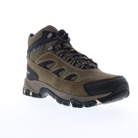 Hi-Tec Ramsey Waterproof 54245 Mens Brown Suede Lace Up Hiking Boots