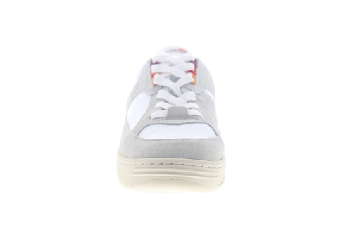 Ellesse Vinitziana Suede AM 6-10113 Mens White Gray Lifestyle Sneakers Shoes