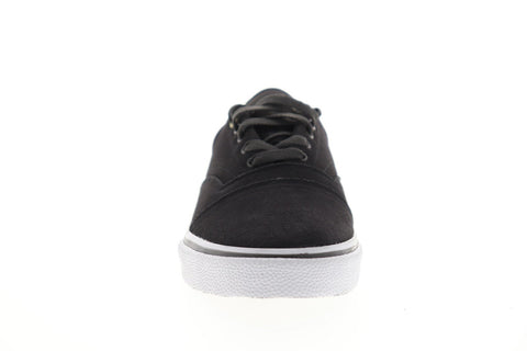 Emerica Provider 6102000127067 Mens Gray Suede Lace Up Athletic Skate Shoes