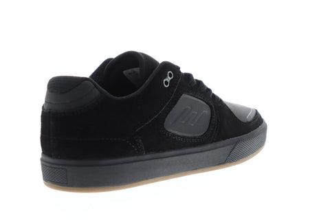 Emerica Reynolds G6 Mens Black Suede & Leather Athletic Lace Up Skate Shoes