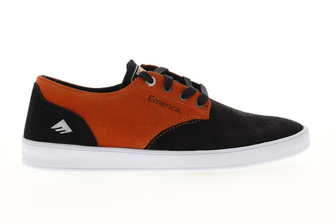 Emerica The Romero Laced X Bronson 6107000236960 Mens Black Athletic Skate Shoes