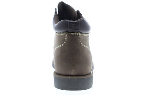 Izod Jaret 630229 Mens Brown Nubuck Casual Dress Lace Up Boots Shoes